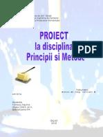 PROIECT Principii Si Metode de Conservare