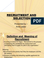 26996099 Recruitment and Selection Ppt
