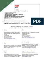 Lista - agencias emprego