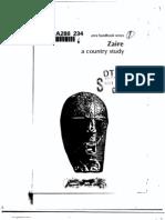 Area Handbook - Zaire