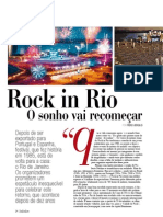 Especial Rock in Rio - Revista ZZZ