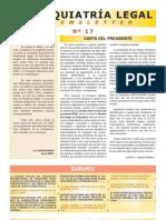 XV Congreso Nacional de Psiquiatría Legal