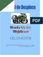 Honda CB 250 - Despiece