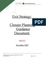 BRCS MRP Exit Strategy- Closure Planning Dec07