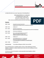 Einladung Wipol-Seminar JusoKV
