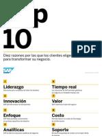 10 Razones SAP