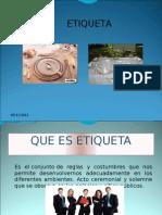 NELL DAVID PEREZ GAITAN, ETIQUETA Y PROTOCOLO