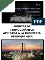 Numero 1. Introduccion y Conceptos Previos de Termodinamica
