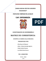 Matriz de Consist en CIA - Expo