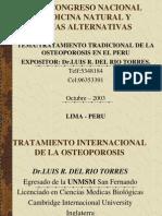 Tratamiento Tradiconal Osteoporosis