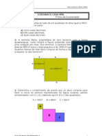 2ª Ficha de apoio(7ºano)_Raiz quadrada e cubica