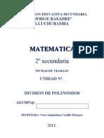 Division de Polinomios Cocientes Notables
