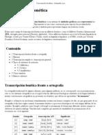 Transcripción fonética - Wikipedia, la enciclopedia libre