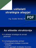 A vállalati Stratégia Alapjai