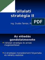 Vállalati Stratégia II