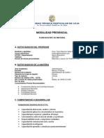 Admin is Trac Ion de Credito II Plan Docente.