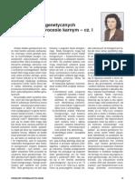 Analiza śladów genetycznych jako dowód w procesie karnym – cz. I