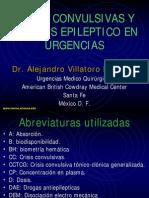 Estatus Epileptico y Crisis Convulsivas