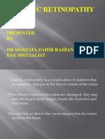 Diabetic thy by Dr. Mostafa Zahir Raihani