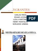 Presentacion IMEC TUBERIA