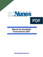 Manual Fornecedores Nunes