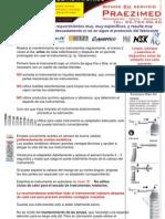 Mantenimiento de Turbinas Odontologicas