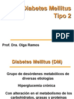 criterios de diagnóstico de diabetes tipo 2 ukc
