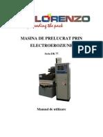 Item 002 - Masina de Prelucrat Prin Electroeroziune