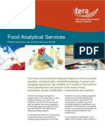 Sudan Food Analytical Services