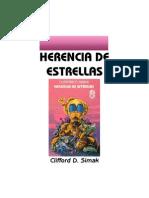 Simak, Clifford D - Herencia de Estrellas