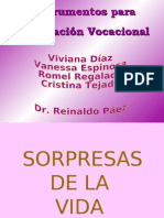 Instrumentos Para Orientación Vocacional