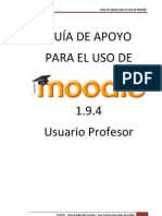 Manual Moodle Profesor