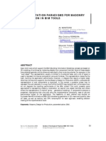 Representation Paradigms for Masonry Modulation in BIM Tools