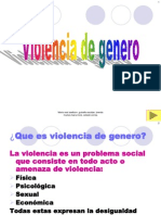 Power Point de Violencia de Genero