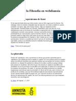 Historia de la Filosofía en webdianoia