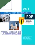 Historia de La Hemodialisis Listo