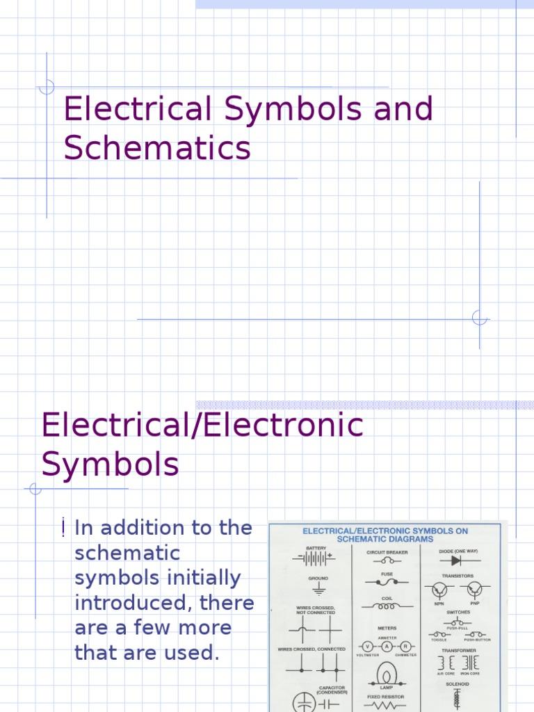 Electrical Circuit Symbols Doc