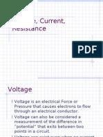 Voltage, Circuit, Resistance
