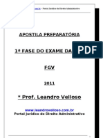 Apostila Admnistrativo Leandro Veloso