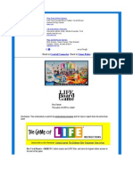 Life Board Game Rules - The Game of Life