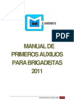 Manual Primeros Auxilios 2011