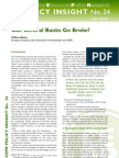 Policy Insight 24 - Can Central Banks Go Broke