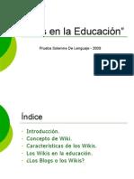 Wikis en La Educacion