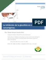 Inhibicion de La Glucolisis en Celulas Cancerigenas