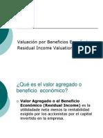 Residual Income Valuation (Spanish)