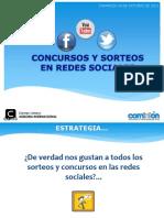 Concursos y promociones en redes sociales