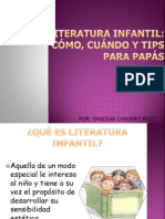 """Consejos para padres sobre la """"Literatura Infantil"""""""