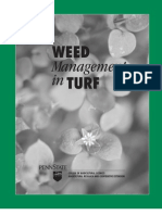 Weed Management in Turf