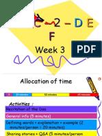 week3 ABC2DEF