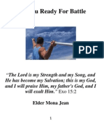 Preparation Are You Ready for Battle Elder Mona Jean ASKE Ministries International